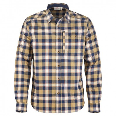 Fjallraven Mens Fjallglim Check Shirt