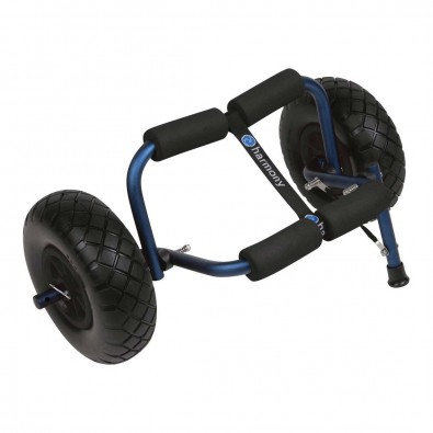 Harmony Stowaway Beach Cart with Flat Free Tires