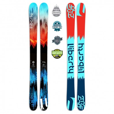 Liberty Skis Origin 106 Skis  2016-17