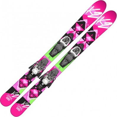 K2 Luv Bug Refurbished Girls Skis 2015