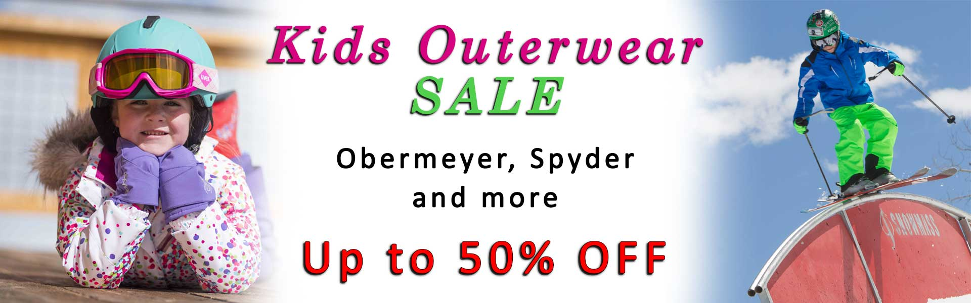 All Kids Jackets & Pants on sale.  Big Savings!