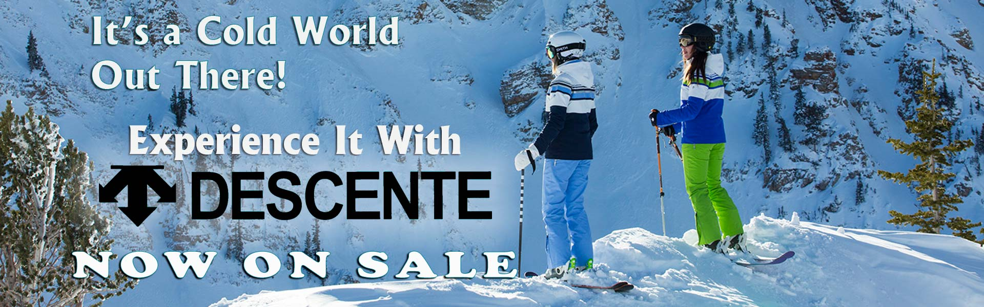 Save on Descente Ski Clothing