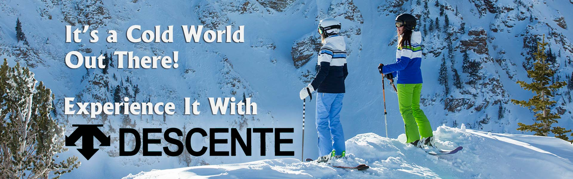 Stay Warm With Descente Ski Clothing