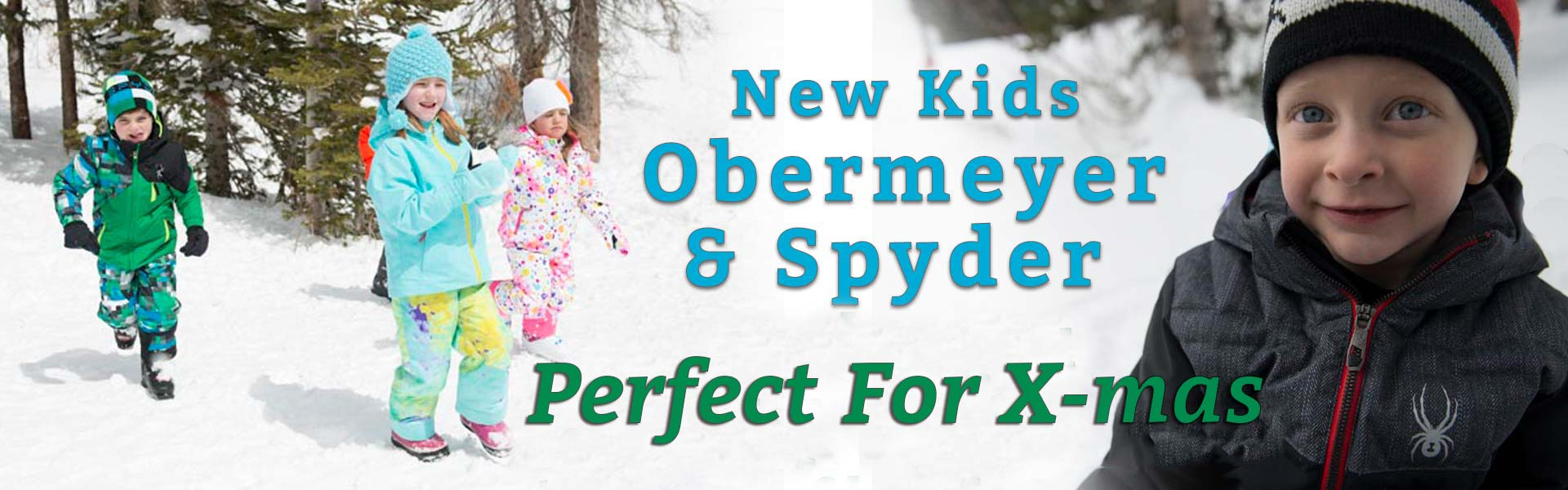 New Kids Jackets and Pants from Obermeyer and Spyder