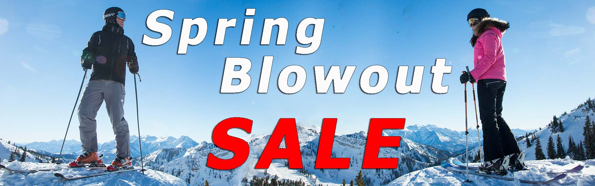 The Best Prices on The Best Ski Brands on Spring Break