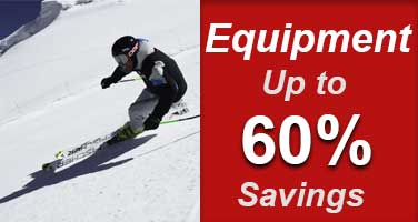 Shop Ski & Snowboard Equipment on Sale