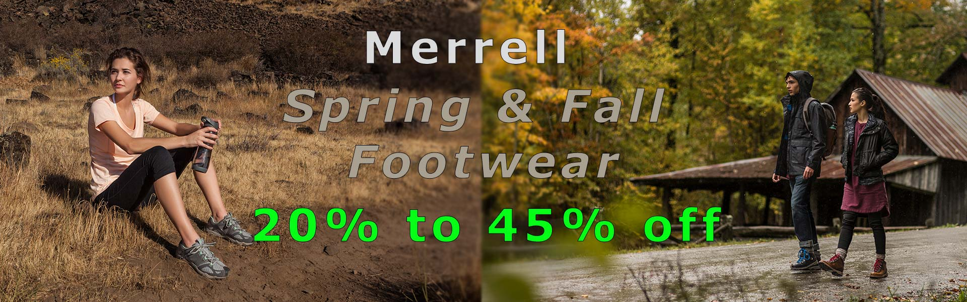 Merrell Footwear on Sale